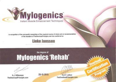 lieke janssen mylogenics rehab