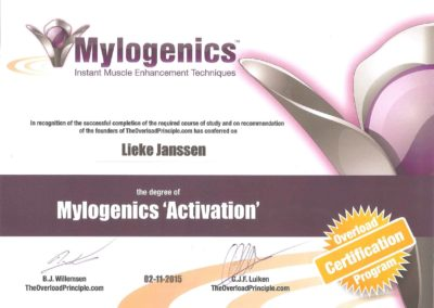 Lieke Janssen mylogenics activation
