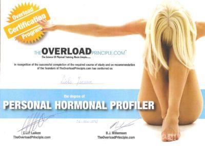 lieke janssen overload hormonal profiler